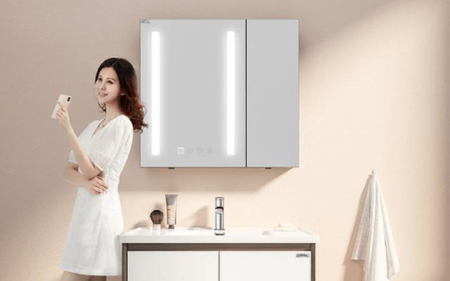 Xiaomi ra mắt tủ gương thông minh, trang bị 252 bóng đèn LED, điều chỉnh độ sáng, màng sưởi chống mờ, giá chỉ 28 USD
