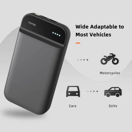 Bộ kích điện xe ô tô khẩn cấp Xiaomi 70Mai Midrive PS01 tích hợp pin dự phòng 11100 mAh