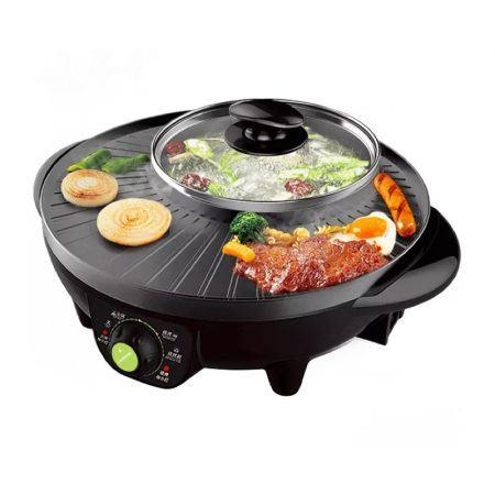 Bếp nướng lẩu đa năng LIVEN SK-J3201