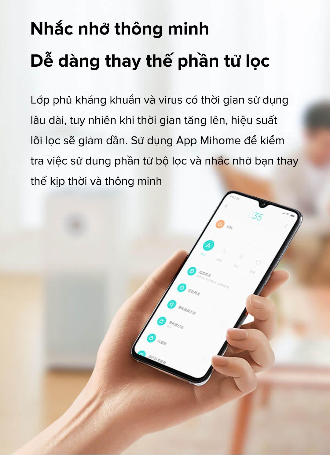 Lõi lọc không khí Xiaomi Air Purifier Filter
