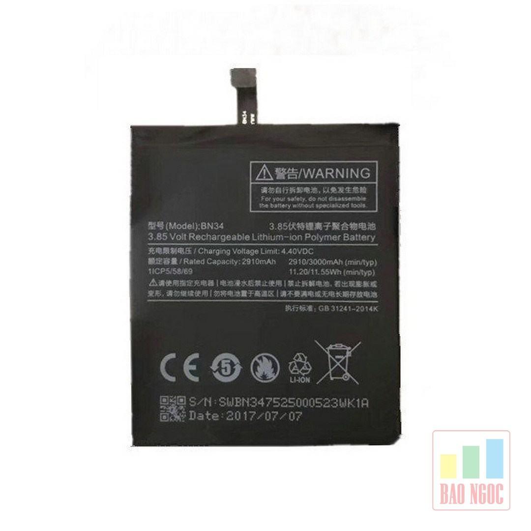 Pin Xiaomi Redmi 5A ( BN34 )
