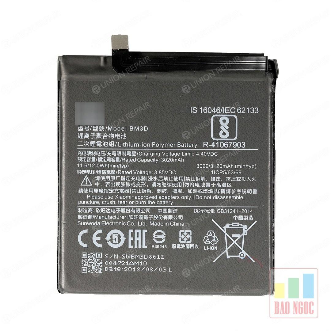 Pin Xiaomi Mi 8 SE ( BM3D )