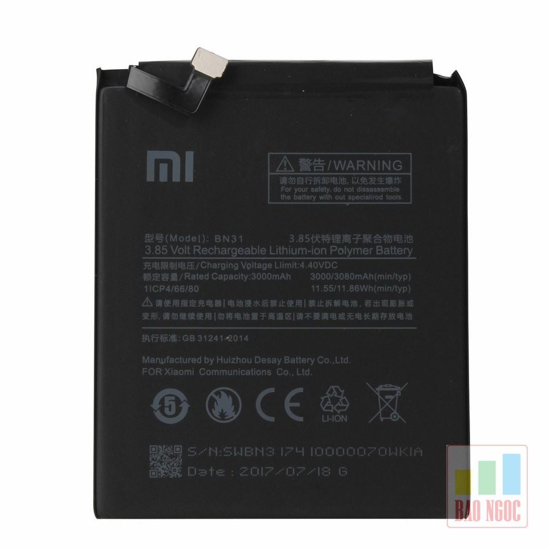 Pin Xiaomi Mi 5X / Mi A1 ( BN31 )
