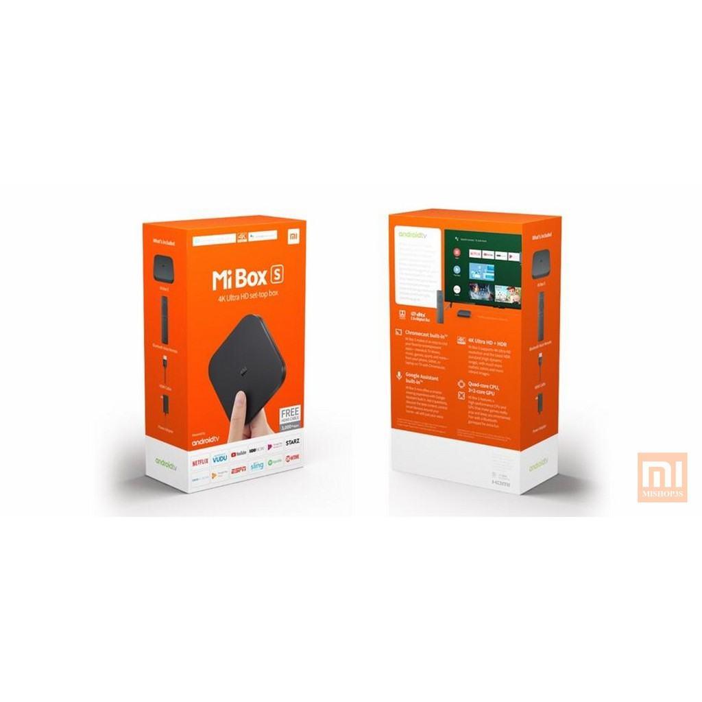 Mibox S Xiaomi Global - Điều khiển giọng nói (Phiên bản Quốc Tế)